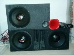 Vendo altos falante hard power 850 rms outro de 450 rms comprar usado  São José dos Pinhais