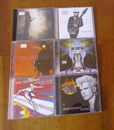 Cds Def Leppard AC/DC Joe Satriani Jeff Beck Billy Idol