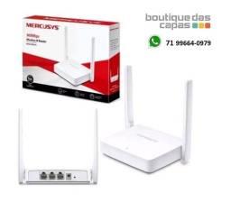 Roteador Mercusys Mw301r Wireless 2 Antenas 300mbps 3 anos de garantia