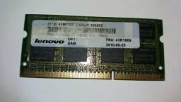 Memória ram lenovo ddr3 2 gb