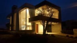B44 - Casa no capão ilhas 5 suites , permuta até 80%, Frente infro e beira lago