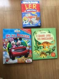 Livros e revistas infantis em perfeito estado