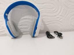 Fone de ouvido dobrável marca t5 bluetooth novo em 2 cores a escolher no ato da compra