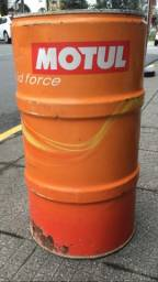 Tambor de lata grande motul para Decoração vintage