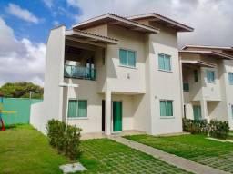Casa duplex, nova, em condomínio fechado com lazer completo - CA0554