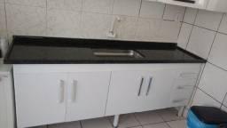 Balcão de mármore para cozinha de 2 metros