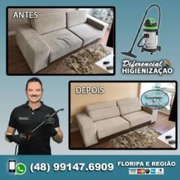 Limpeza de Sofás, Colchões, Cadeiras, Tapetes, Carpetes e outros