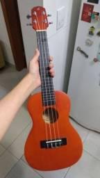 Ukulele Concerto Giannini Uks-23-ns com bolsa e suporte pra pendurar