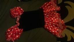 Vestido da Minnie Mouse