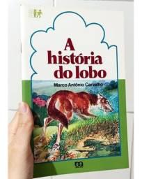 Título do anúncio: Livro Infantil A História do Lobo Leitura Para Crianças