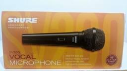 microfone shure sv200 vocal profissional.