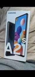 Samsung A21s zerado na caixa