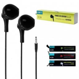 Fone de ouvido estereo para celular Android com entrada P2
