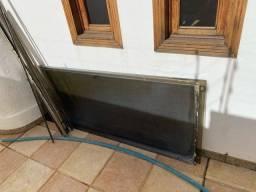Box banheiro blindex 1,95 .altura por 1,40 largura