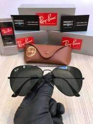 Óculos de sol Ray ban Aviador Clássico black