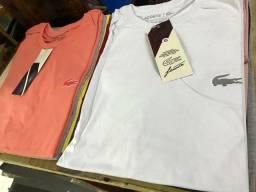 Camisetas Top por R$ 22,00 cada, à vista