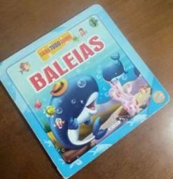 Título do anúncio: Livro capa dura infantil sobre Baleias