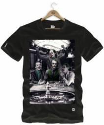 Camiseta estampada Arlequina & Coringa