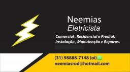 Eletricista Profissional(aceito pix)