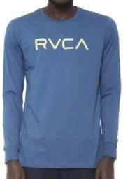 Camiseta Rvca  Big Logo Azul Nova ( Original )