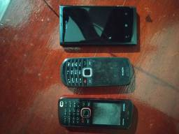 Título do anúncio: 3 celular Nokia