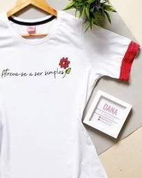 T-Shirt Feminina Atreva-se a ser Simples!