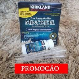 Minoxidil kirkland caixa lacrada + 6 aplicadores