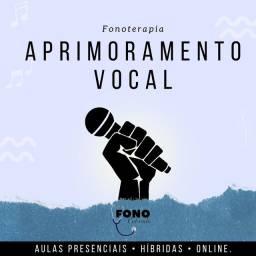 Aula de canto e aprimoramento vocal