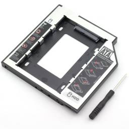 Case Para Hd E Ssd Interno Para Notebook   Caddy 12,5mm