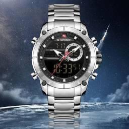Relógio Naviforce Original Aço Inoxidável
