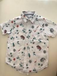 Título do anúncio: Camisa infantil Fuzarca 5-6 anos