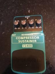 Pedal compressor sustainer