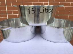 Título do anúncio: Panelas de alumínio batido grossas