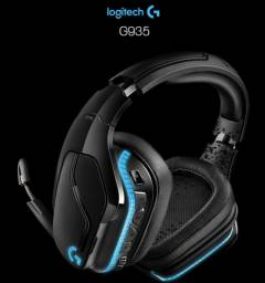 Título do anúncio: Headset Gamer Logitech G935 sem Fio Preto