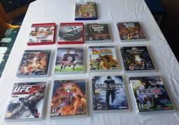 Lote de 11 Caixinhas Manuais e Encartes Originais PS3 - Jogos Variados - Não Tenho Os Cds