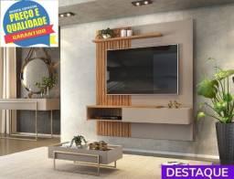 """Painel 100% MDF Home Suspenso Tito  Tv até 65"""" 1P - Catálogo completo via whats"""