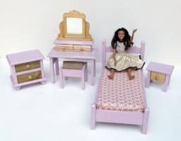 Dormitório para Bonecas Susi ou Barbie