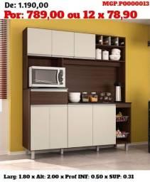 Promoção em Londrina- Armario de Cozinha-Kit de Cozinha - Cozinha