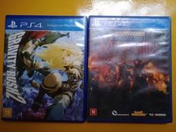 Troco jogos de PS4!