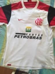 Camisa oficial Flamengo Nike branca 2003 41f78b485786e