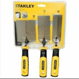Conjunto espátula Para Bordas Stanley 82mm 51mm 38mm Stht05896