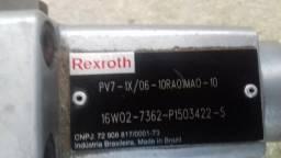 Bomba hidraulica rexroth , com motor weg
