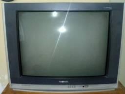 "Frete Grátis Televisão TV toshiba 29"" Polegadas stereo mts broadcast reception"