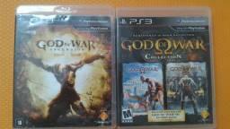 God of War I, II, e Ascension - somente venda