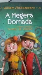 Livro A Megera Domada - Flavio de Souza