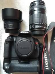 Canon T3i + Acessórios