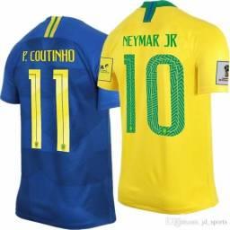 R$30,00 Personalização Camisa Seleção Brasileira