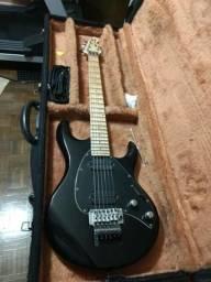 Guitarra Luthier Lunacy - R$ 800 - Floyd Gotoh, Dimarzio Evolution e Paf, Toda em Alder