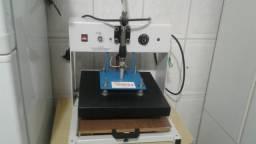 Máquina de estampar camisa compacta print