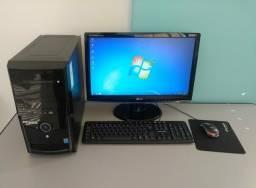 "Computador Intel Pentium 2.41 GHz Monitor 20"" Memória 4GB HD 500GB"